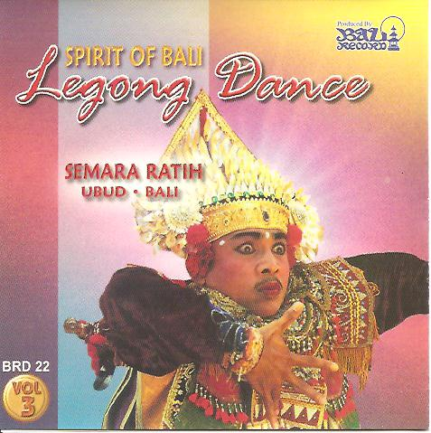 SR Spirit of Bali - Legong Dance BRD 22